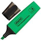 Текстовыделитель Attache Colored зеленый (толщина линии 1-5 мм)
